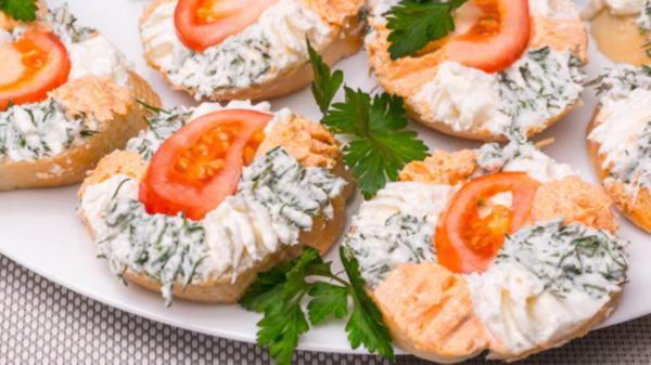 Три рецепта классных праздничных бутербродов