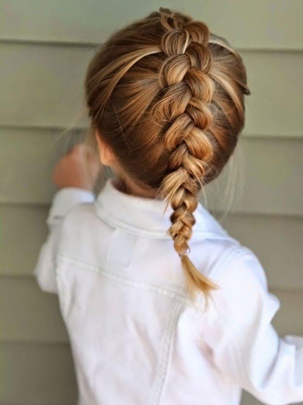 Для маленьких принцесс: 35 шикарных причесок на короткие волосы! | 20