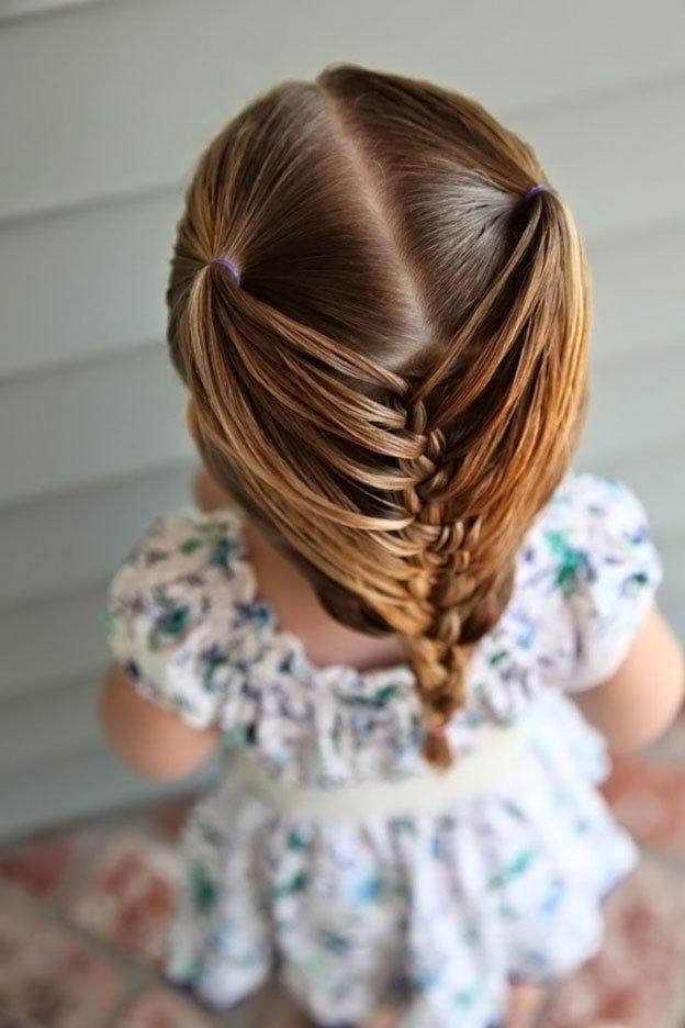 Для маленьких принцесс: 35 шикарных причесок на короткие волосы! | 23