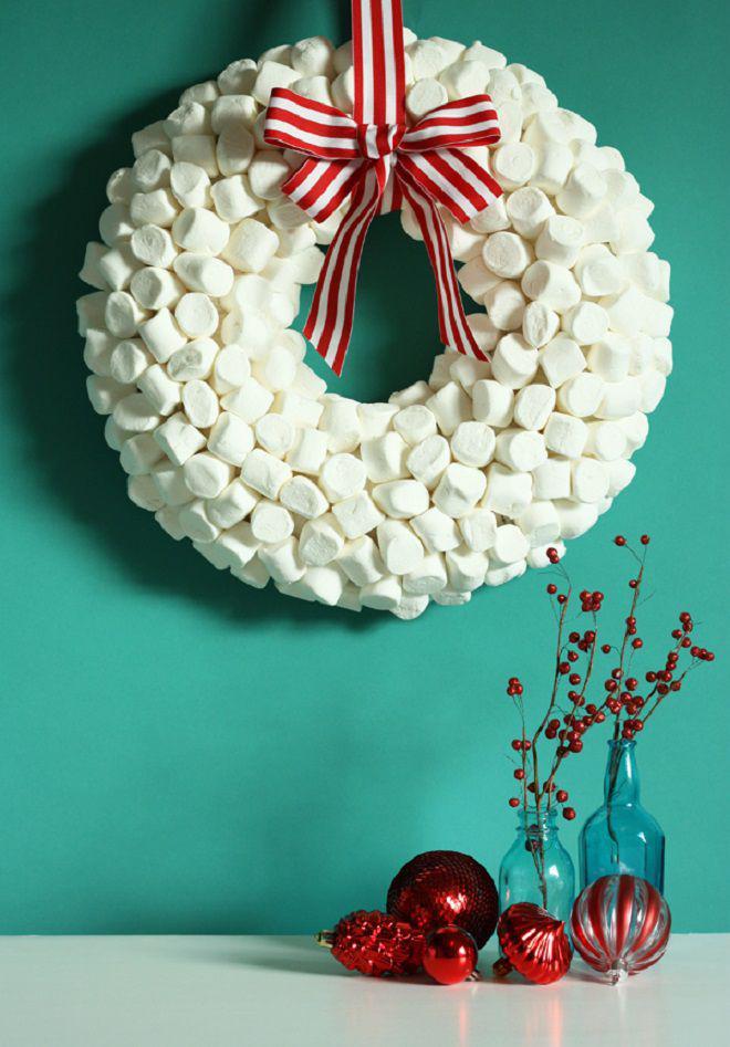 Мастер-класс по созданию необычных рождественских веночков
