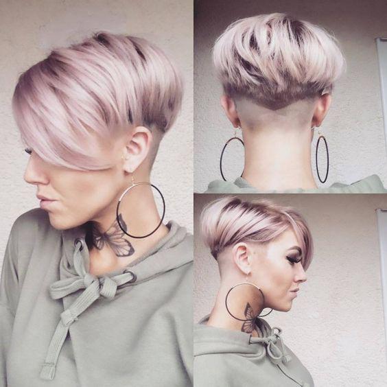 Создание объема на коротких волосах | 3