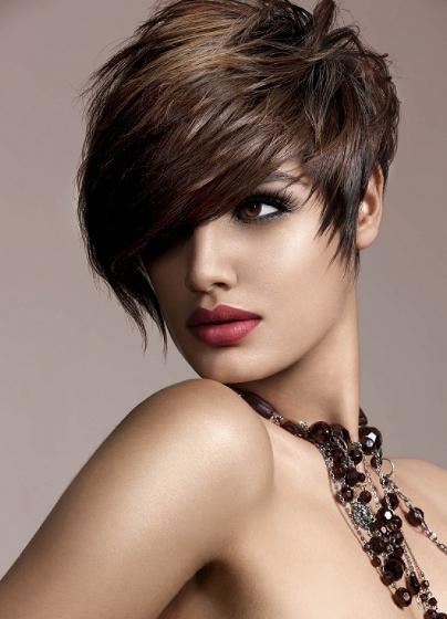 16 стильных идей стрижки каскад на короткие волосы | 4