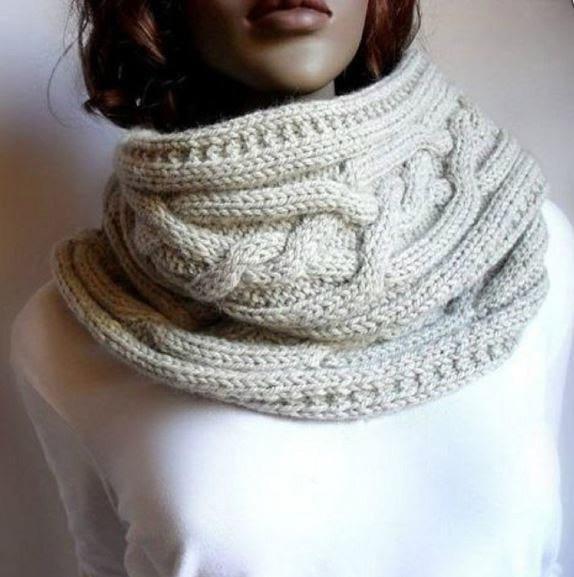 Новый образ каждый день! 4 варианта вязания японского шарфа-трансформера со схемами и описанием