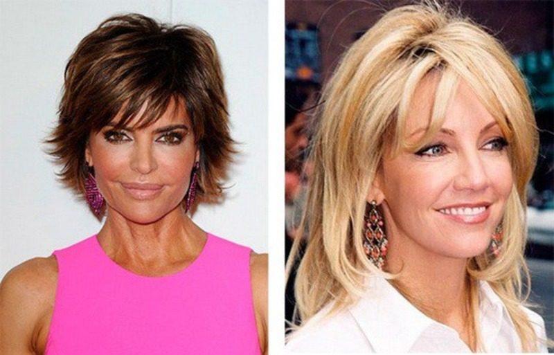 Модные стрижки и прически для женщин 40, 50 и более лет   41
