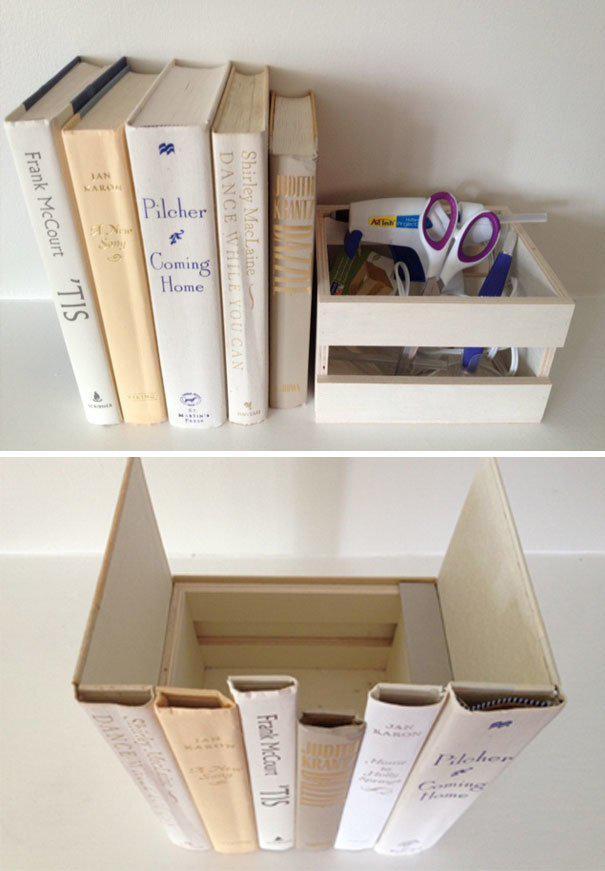 Тайник на книжной полке где спрятаться, забавно, неожиданно, познавательно, потайное место, секрет, тайна, тайник