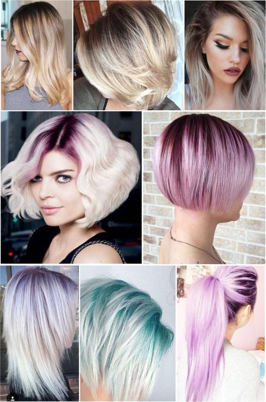 Самые модные тенденции окрашивания волос в 2018 году | 45