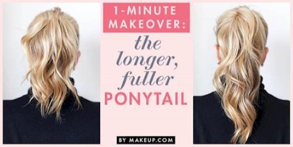 Как быстро и красиво уложить волосы? | 5