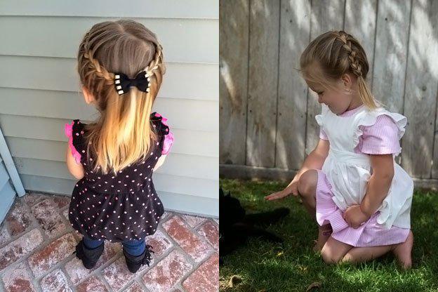 Для маленьких принцесс: 35 шикарных причесок на короткие волосы! | 5