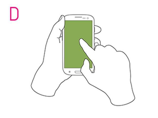 То, как вы держите телефон раскрывает ваш характер. А как держите телефон вы?