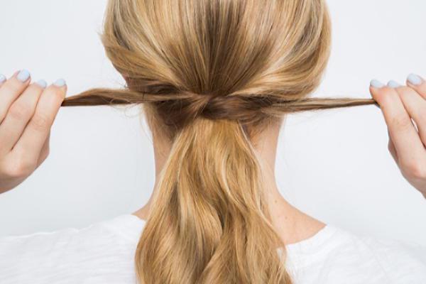 Как быстро и красиво уложить волосы? | 6
