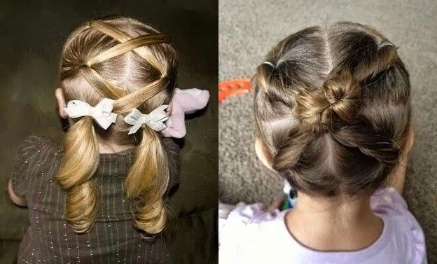 Для маленьких принцесс: 35 шикарных причесок на короткие волосы! | 6