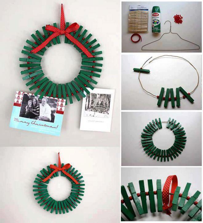 Мастер-класс по созданию необычных рождественских веночковg