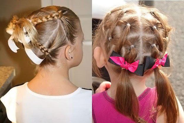 Для маленьких принцесс: 35 шикарных причесок на короткие волосы! | 7
