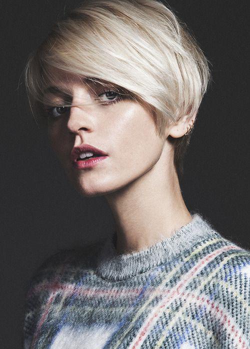 16 стильных идей стрижки каскад на короткие волосы | 7