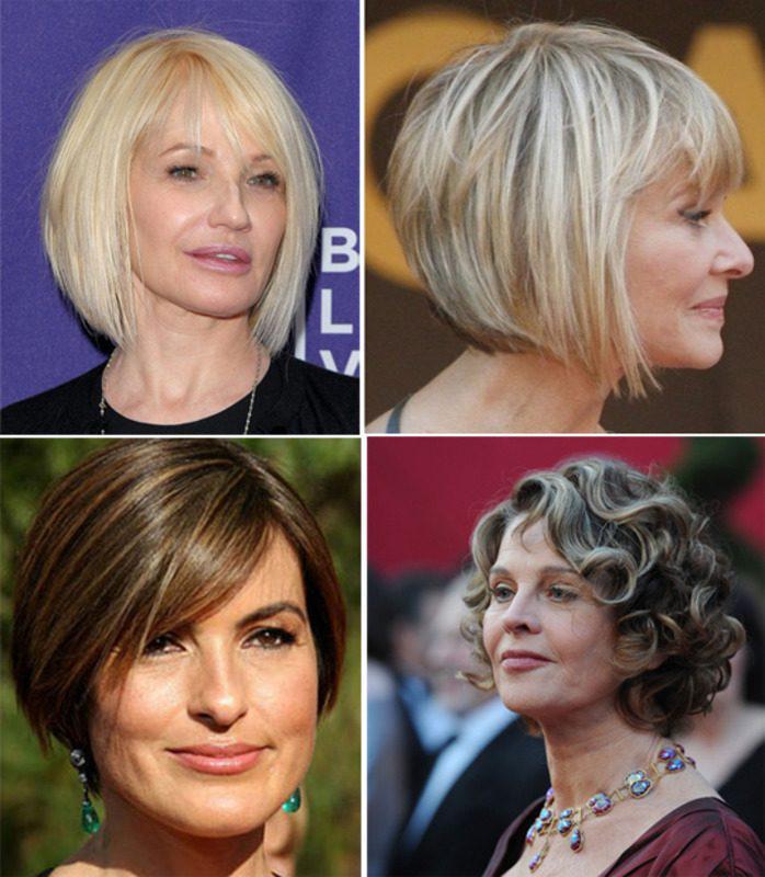 Модные стрижки и прически для женщин 40, 50 и более лет   73