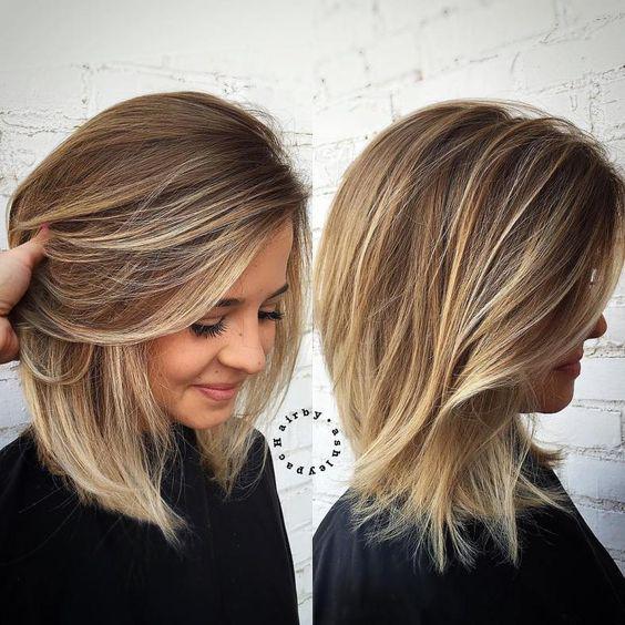 Модные стрижки на средние волосы — новейшие тенденции 2018!