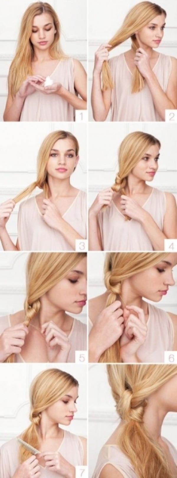 Как быстро и красиво уложить волосы? | 8