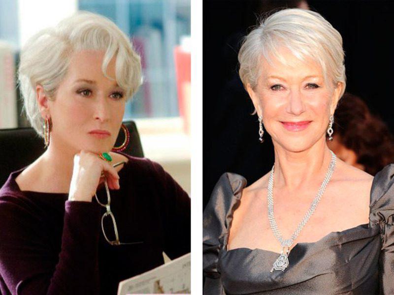 Модные стрижки и прически для женщин 40, 50 и более лет   94
