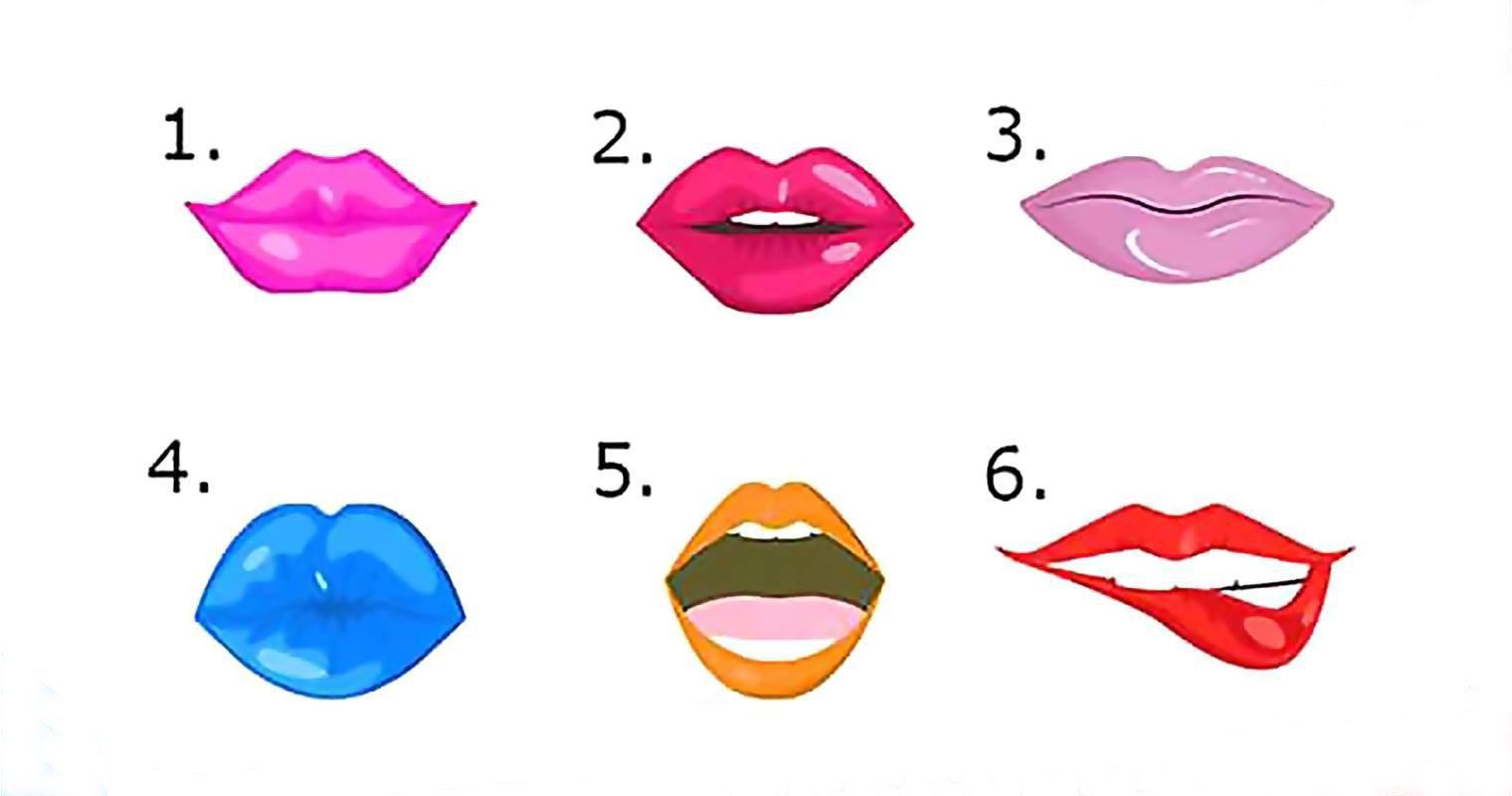 Выбери цвет губной помады и узнай о себе что-то новое!