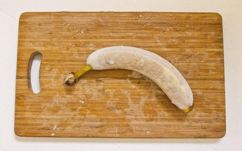 Готовим здоровое мороженое из замороженного банана