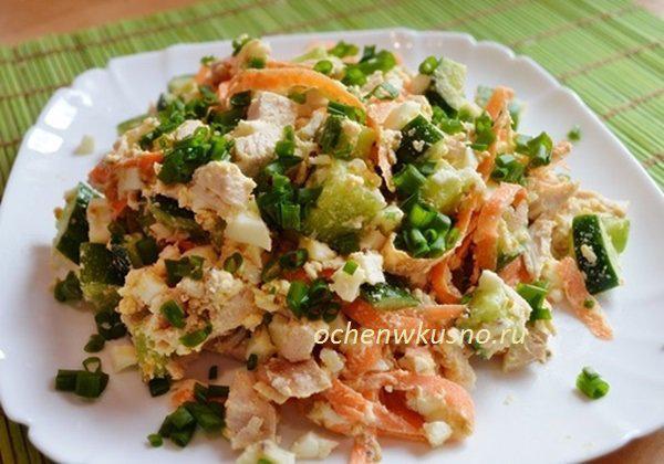 Топ-3 вкусных салатов без майонеза