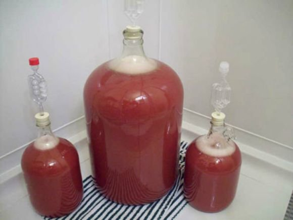 Как приготовить домашнее вино из старого варенья
