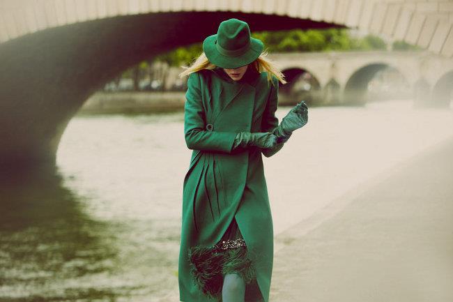 Восхитительное сочетание роскошного зеленого и элегантного серого | 1