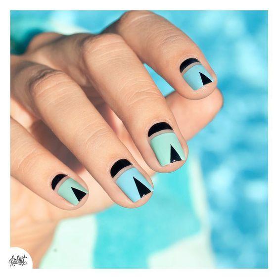 Модные тенденции маникюра для коротких ногтей | 1
