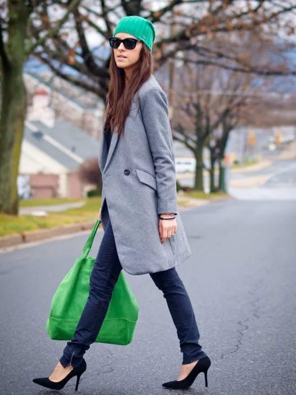 Восхитительное сочетание роскошного зеленого и элегантного серого | 11