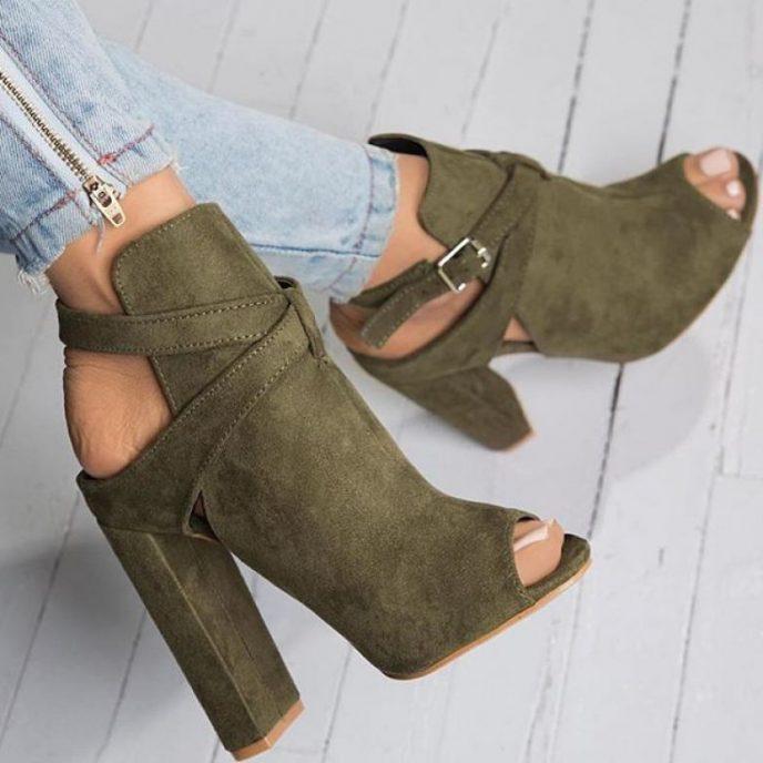 Какие туфли войдут в моду весной и летом 2018 года | 11