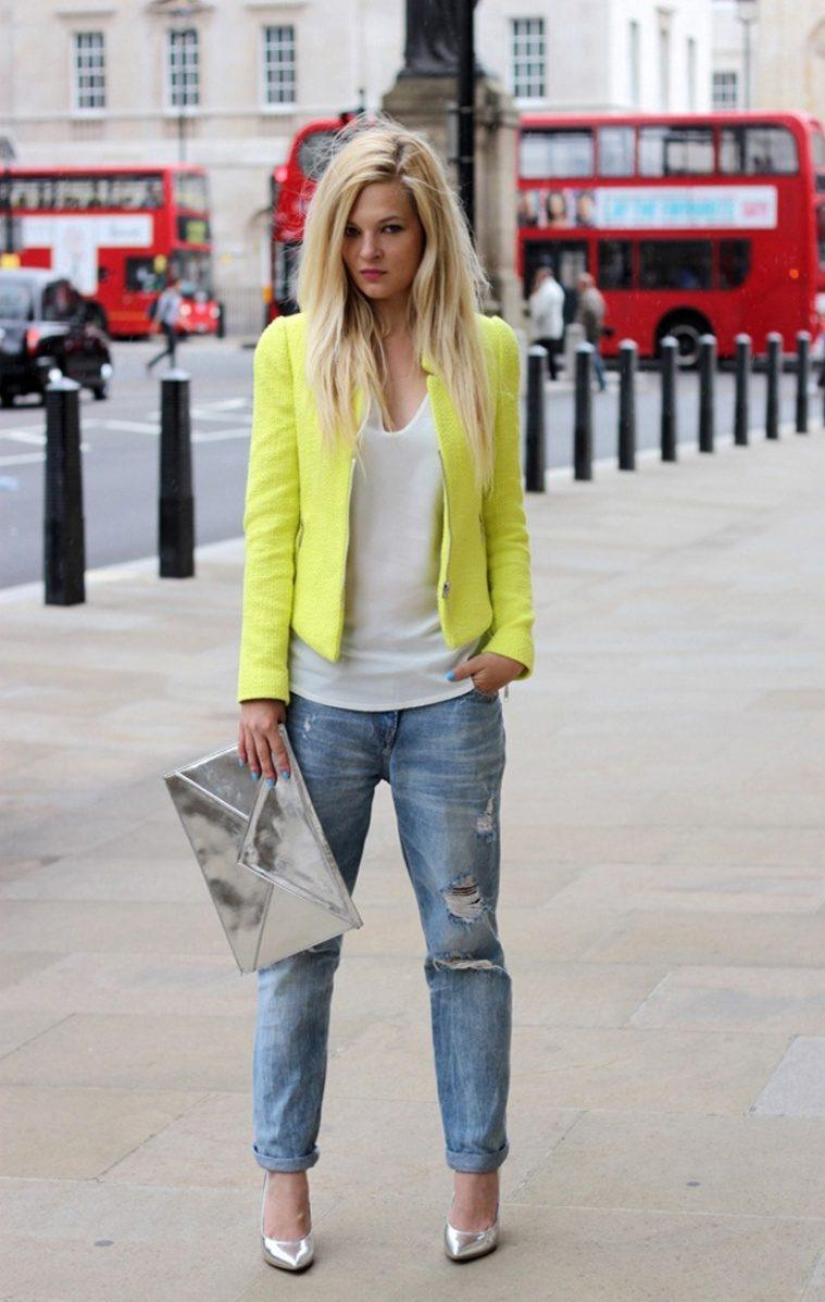 Модные женские джинсы сезона 2018 | 12