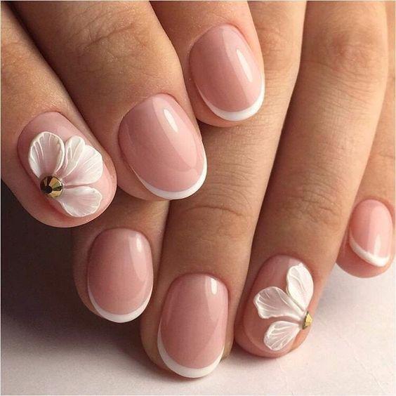 Модные тенденции маникюра для коротких ногтей | 13