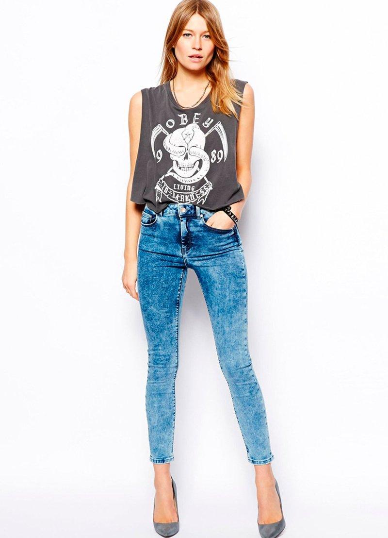 Модные женские джинсы сезона 2018 | 13
