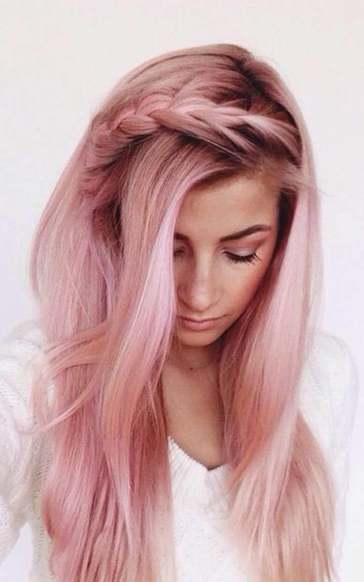 Окрашивание волос блоранж | 14