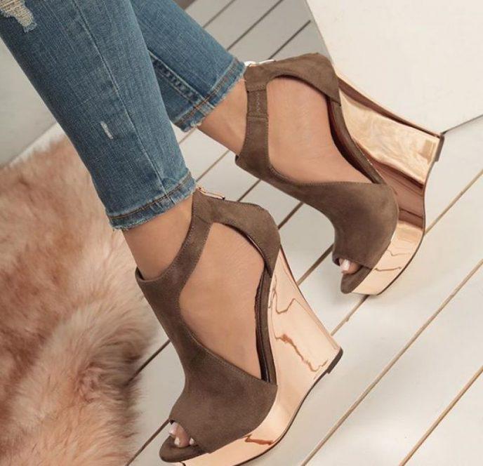 Какие туфли войдут в моду весной и летом 2018 года | 15