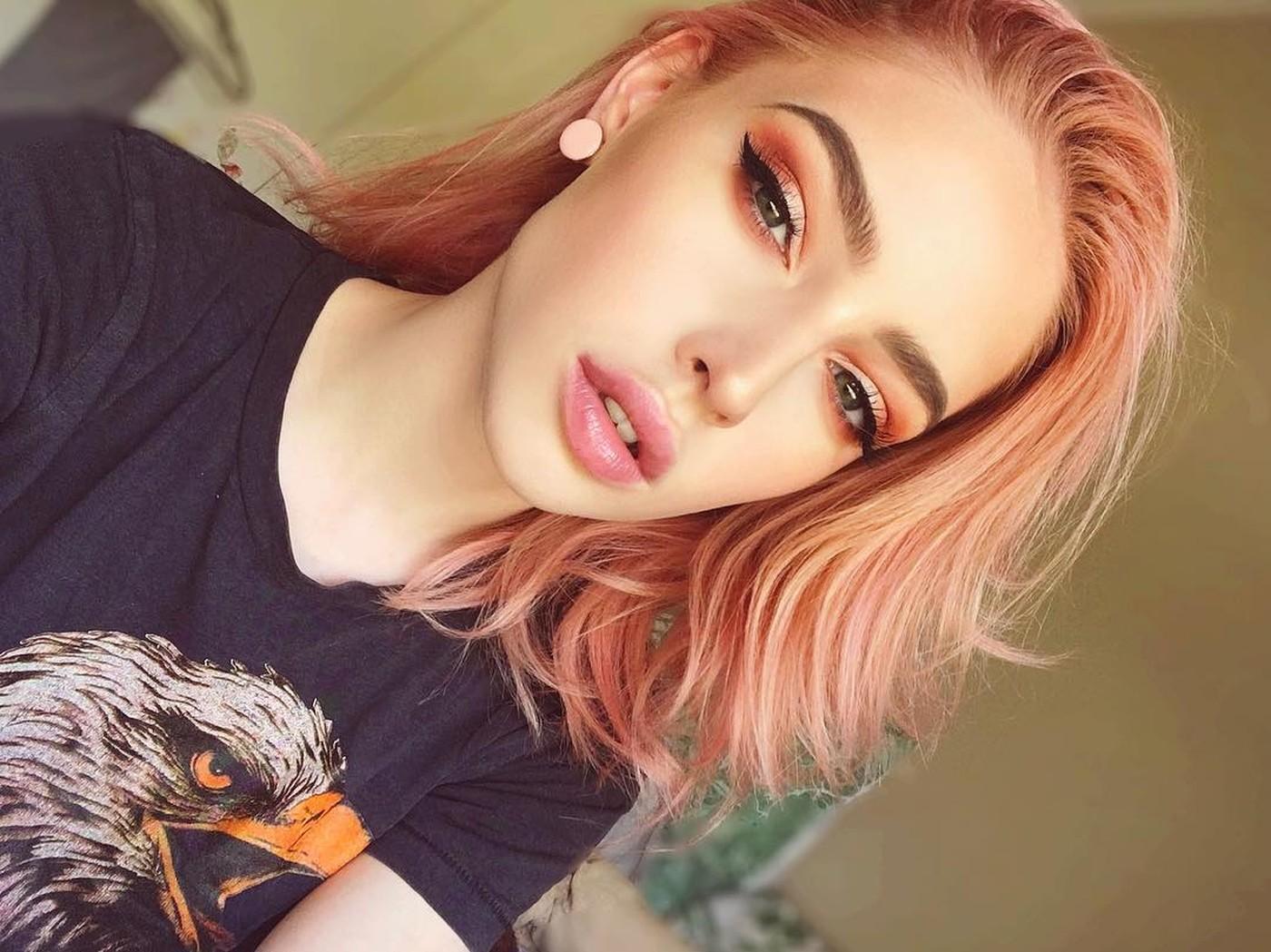 Окрашивание волос блоранж | 17