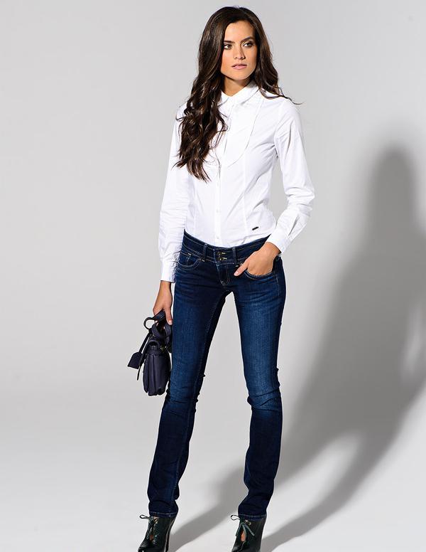 20 великолепных образов с белой блузкой | 18
