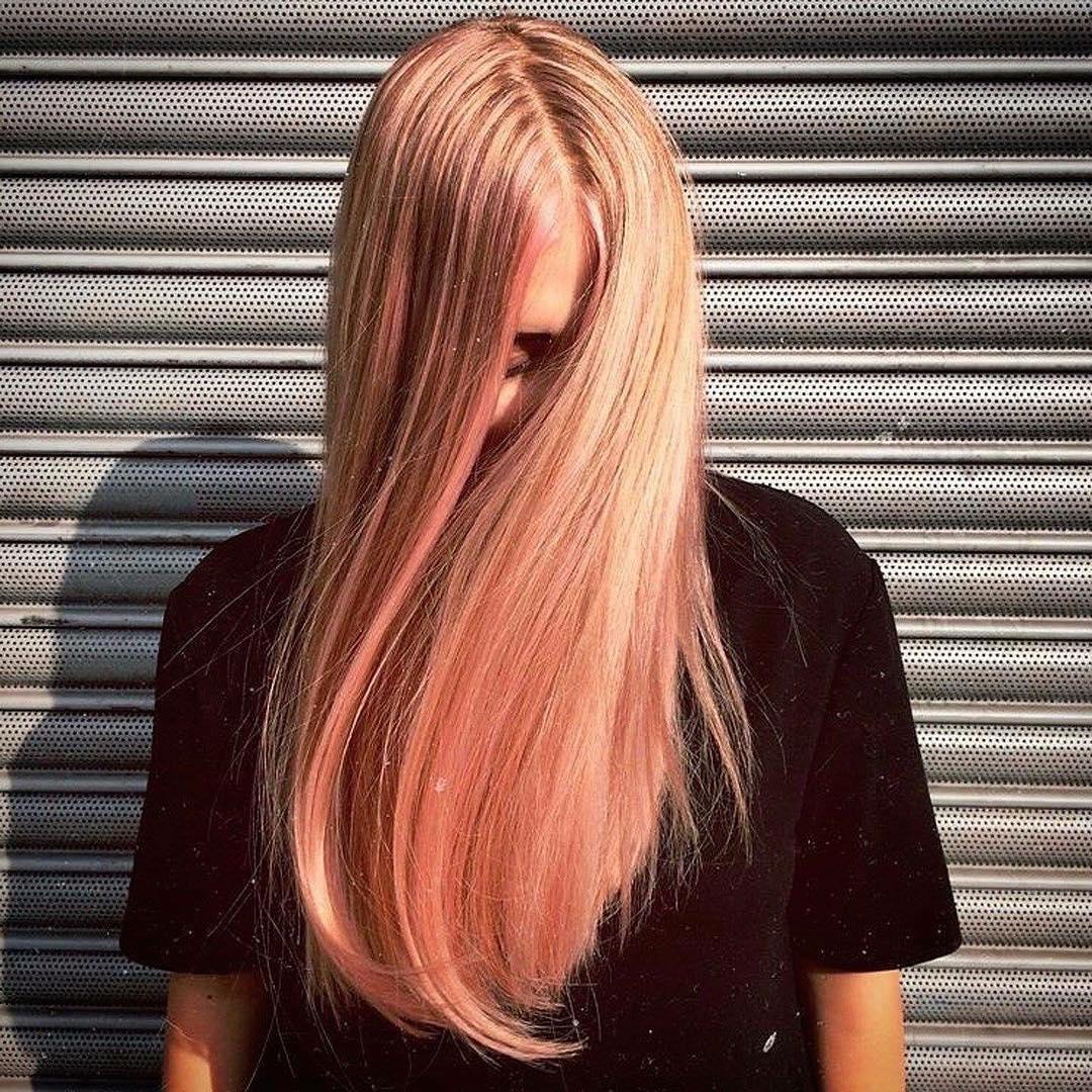 Окрашивание волос блоранж | 18
