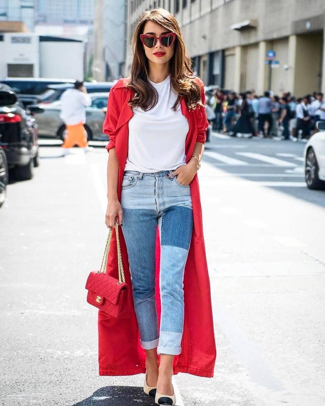 Модные женские джинсы сезона 2018 | 18