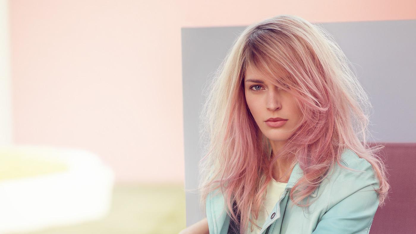 Окрашивание волос блоранж | 2