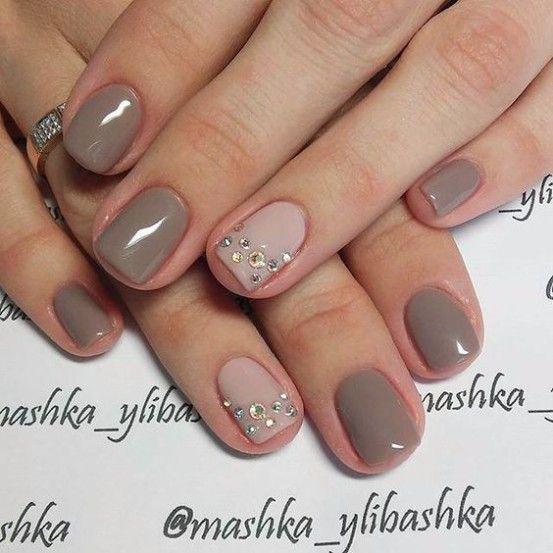 Модные тенденции маникюра для коротких ногтей | 21