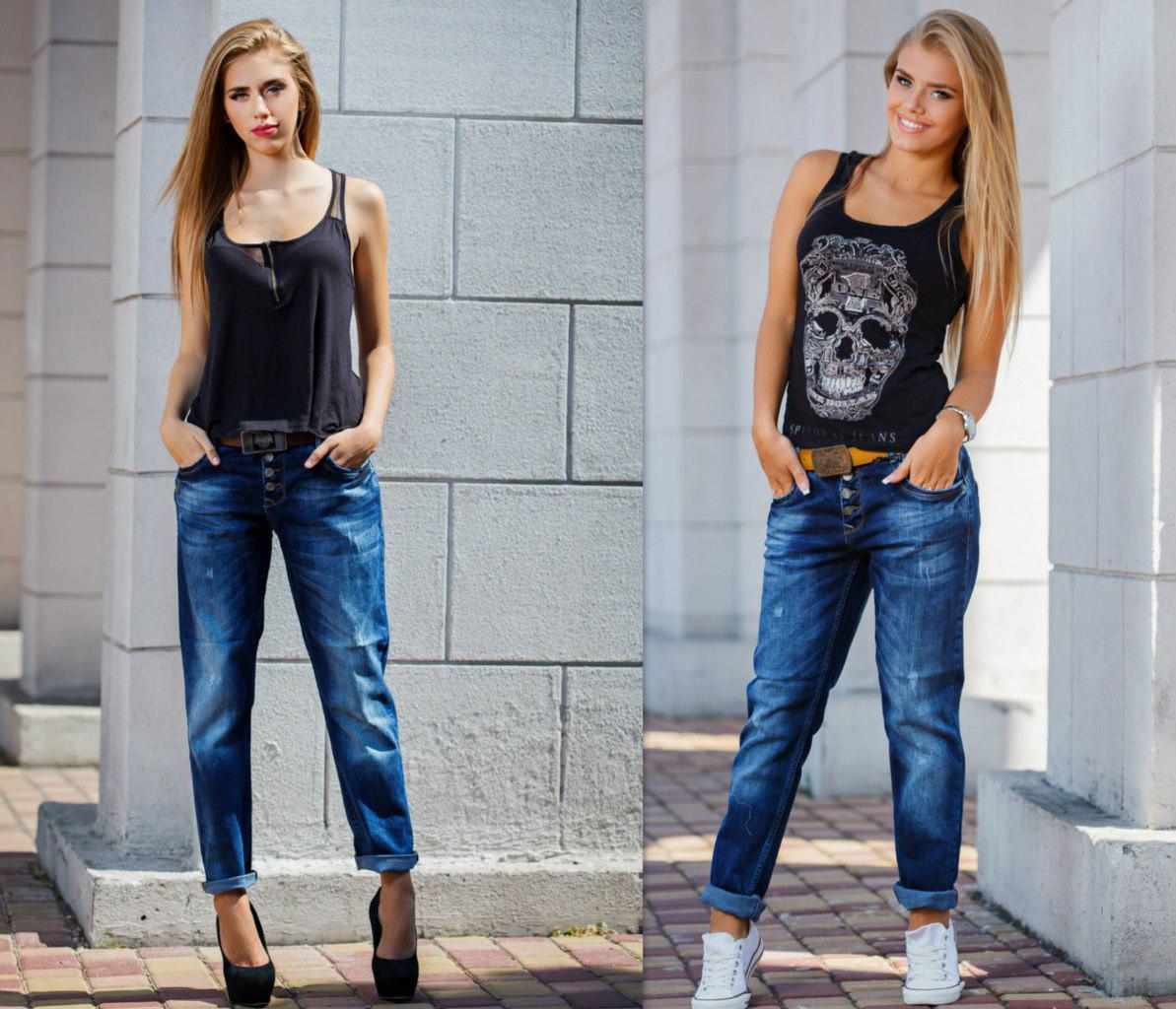 Модные женские джинсы сезона 2018 | 21