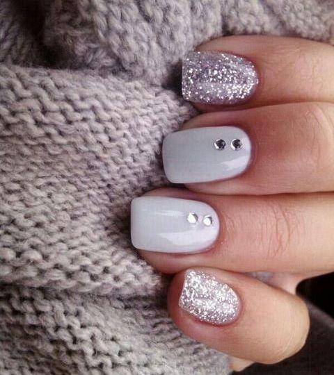 Модные тенденции маникюра для коротких ногтей | 22