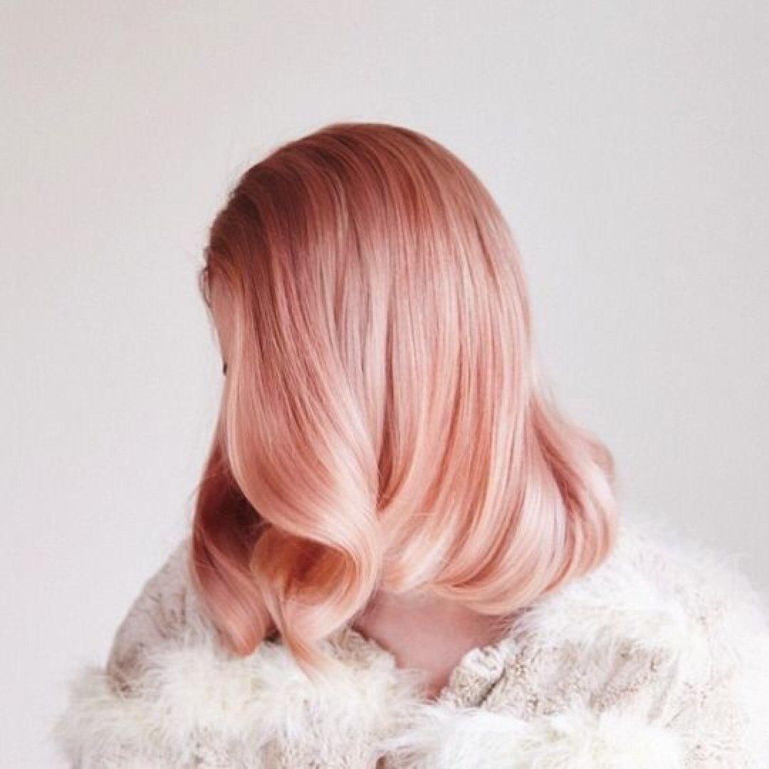 Окрашивание волос блоранж | 22
