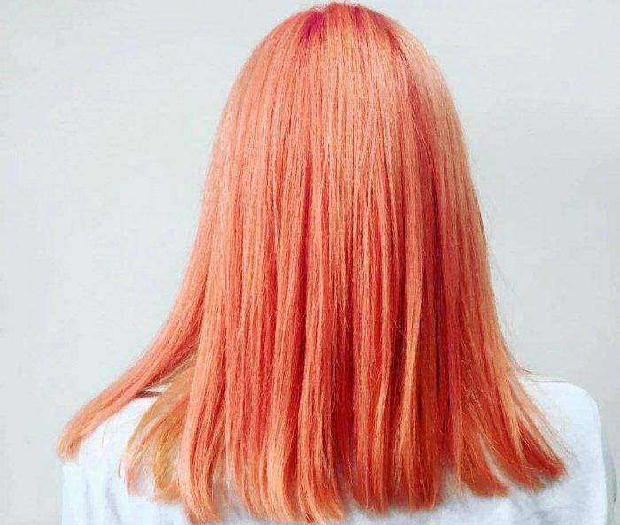 Окрашивание волос блоранж | 24