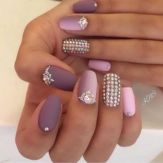 Модные тенденции маникюра для коротких ногтей | 25