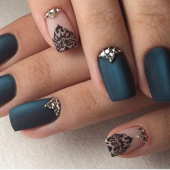 Модные тенденции маникюра для коротких ногтей | 26