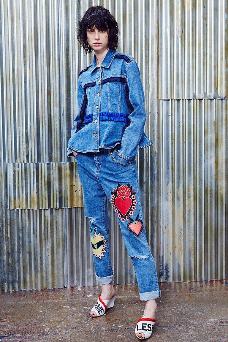Модные женские джинсы сезона 2018 | 26
