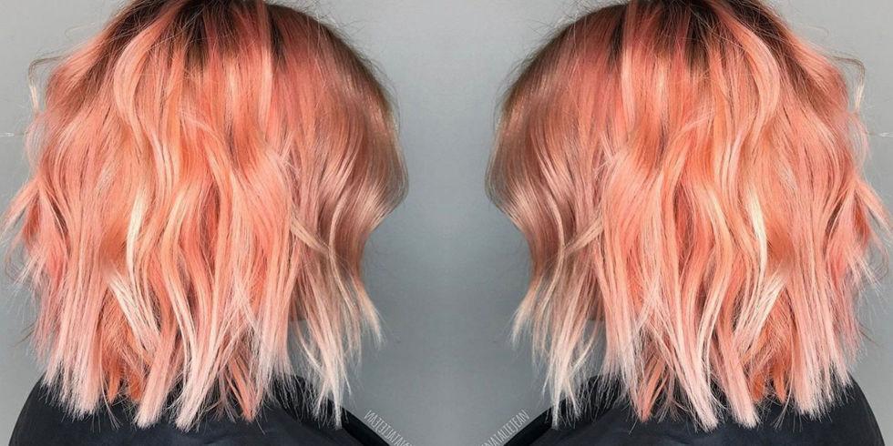 Окрашивание волос блоранж | 27