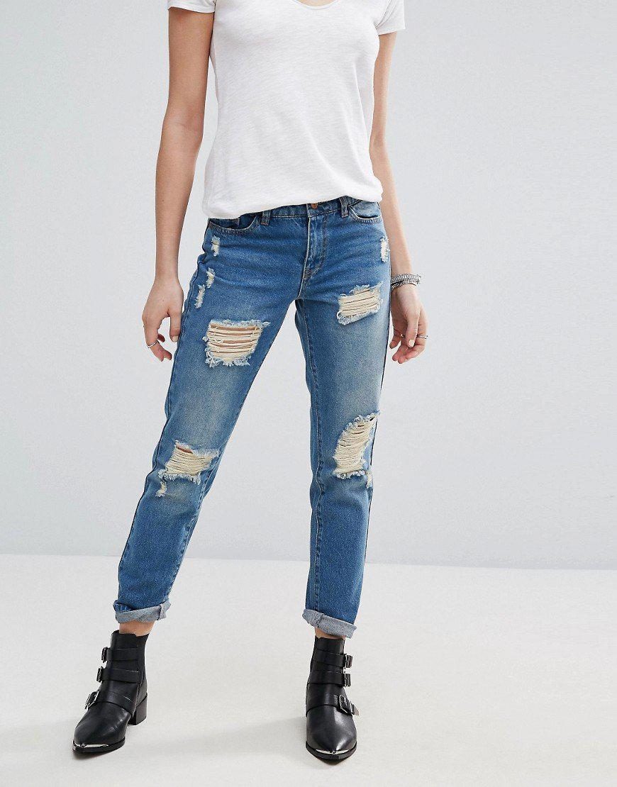 Модные женские джинсы сезона 2018 | 27